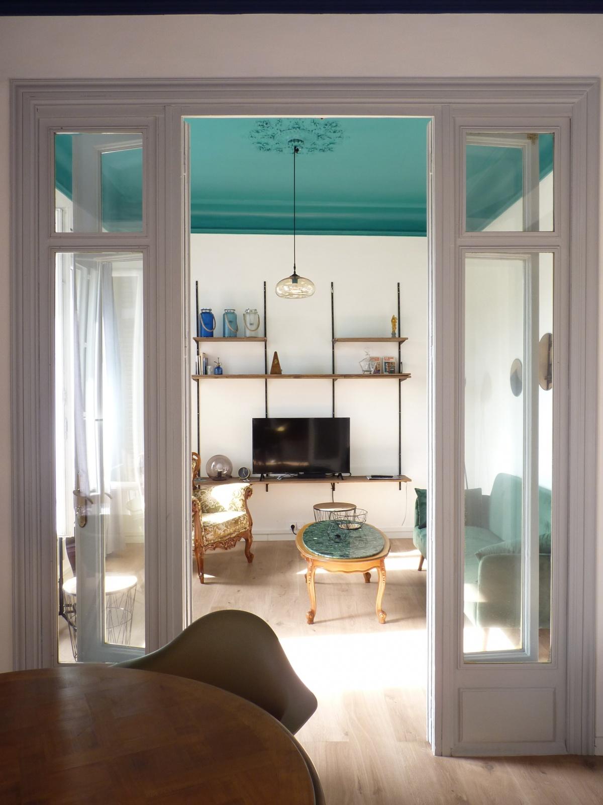 Rénovation d'un appartement « couleurs palais »