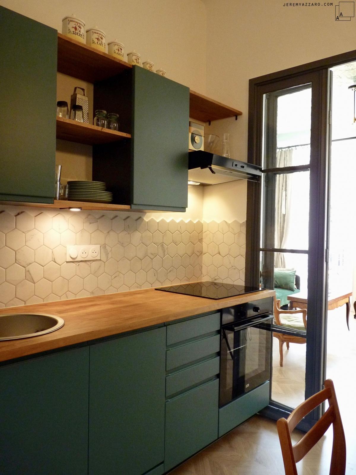 Création de deux appartements « angle deux vies » : transformation-appartement-cuisine-jeremy-azzaro-architecte-min