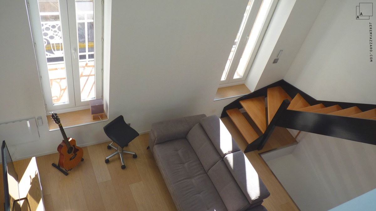 Création d'un triplex en maison de ville « de bas en haut » : creation-duplex-triplex-renovation-marseille-azzaro-architecte-min