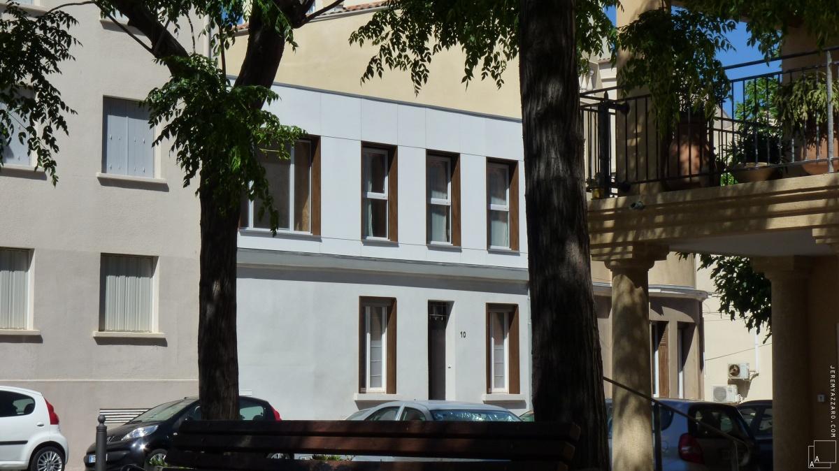 Surélévation d'une maison de ville « les trois trios » : 12-min