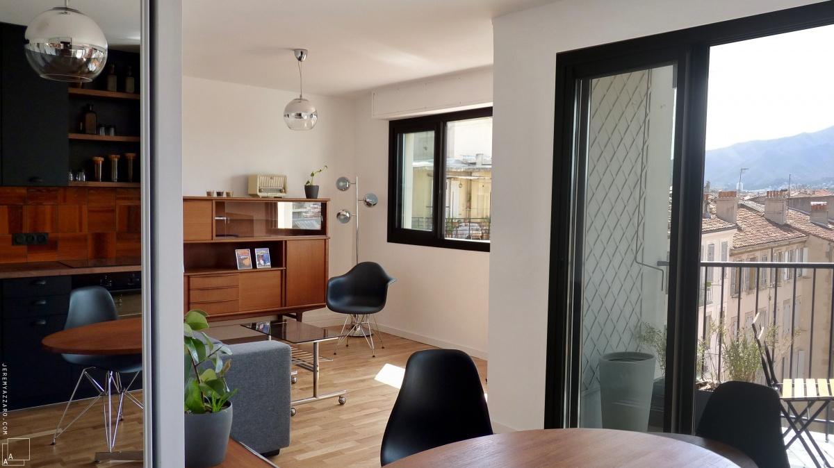 Transformation par division d'un appartement « en enfilade »