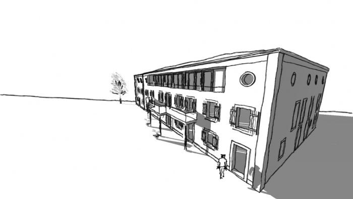 Rénovation bâtiment dans l'Aude : Esperaza elegant balkon2