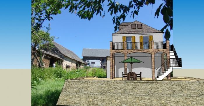 La Borde : maison3