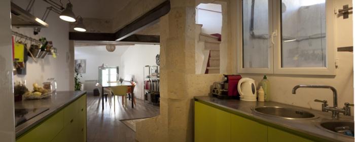 R novation d 39 une maison de ville n mes - Renovation petite maison de ville ...