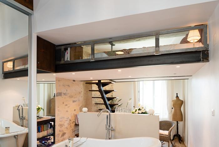 Suite parentale Style industriel - moderne dans Immeuble classé ...