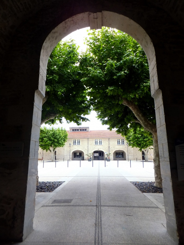 Cour du Centre Pépin