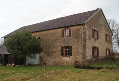 Réhabilitation d'une ferme dans les Vosges : AVANT