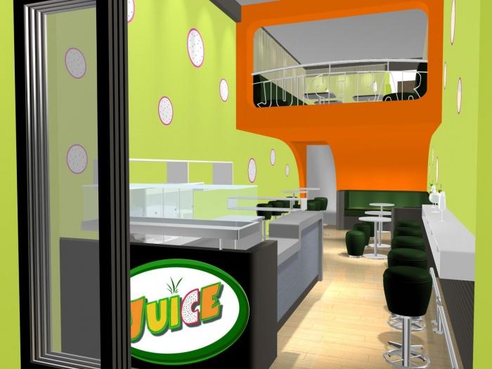 Juice bar : IMAGE 3D