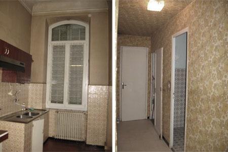 Réaménagement Intérieur dans un Immeuble ancien : appartement.dieude.edl.azzaro