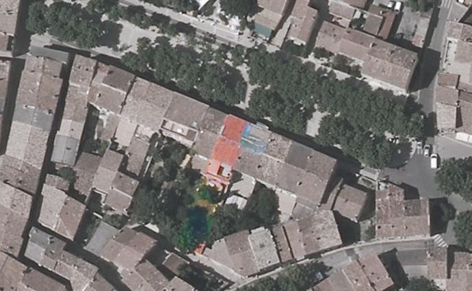 Surélévation d'une Maison de Village : masse-surelevation-maison-combles-loft-terrasse-tropezienne-azzaro-architecte