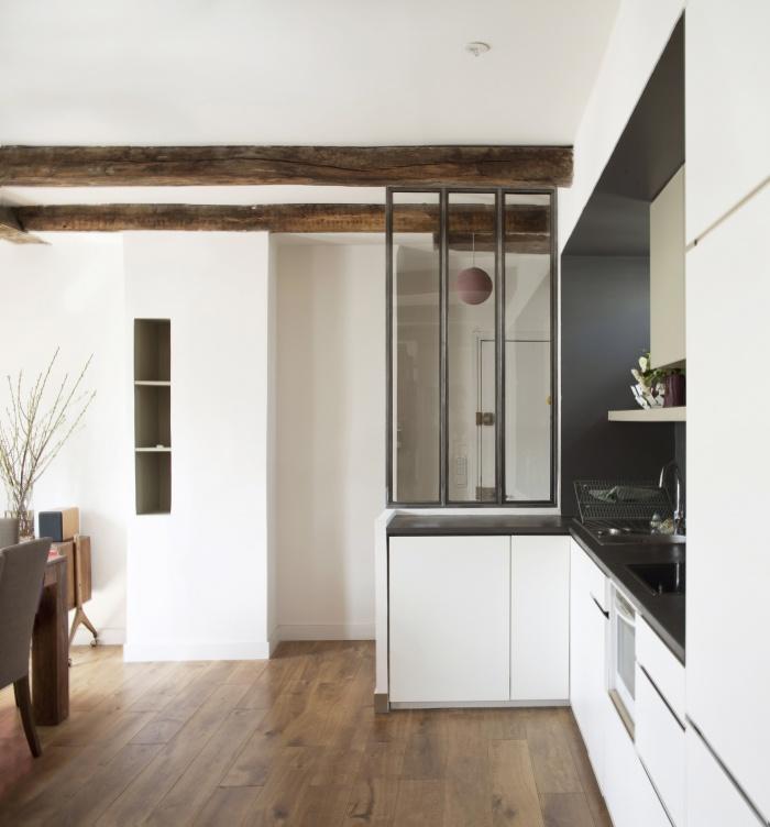 Restructuration complète d'un appartement à Paris 11°