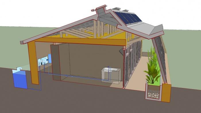 Maison Autonome Durable 00 Concept : SCHEMA  EAU 02 WOM