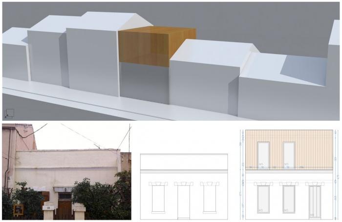 Surélévation en ossature bois, greffe contemporaine : d-surelevation-ossature-bois-maison-contemporaine-marseille-concept-elevation- jeremy-azzaro-architecte