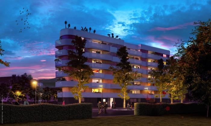 Conception d'un immeuble de 52 logements