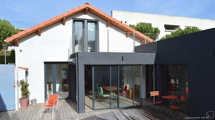 Recomposition intérieure d'une maison marseillaise avec extension contemporaine : image_projet_mini_91055