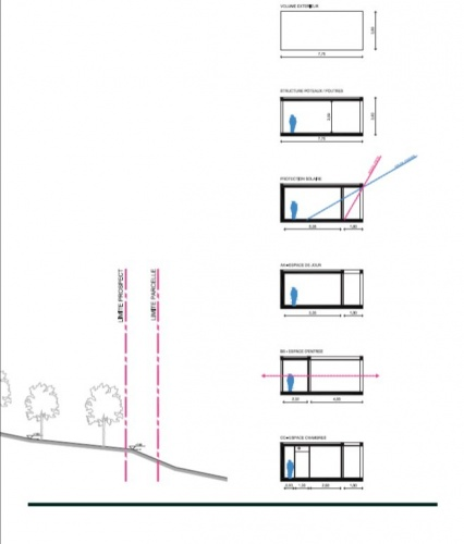 Maison de vacances béton et ossature bois : Plan_Bellecombe_3